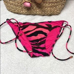 Victoria Secret Zebra string bikini